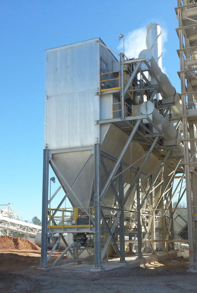 Jet Aire Dust Collector for Clay Calciner