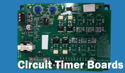Circuit Timer Boards for Jet Pulse Timing