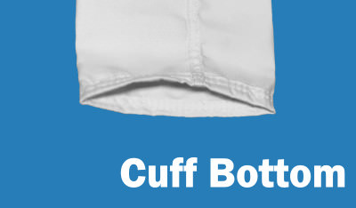 Cuff Bottom on a Shaker style Filter Bag