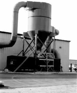 Griffin-Aire Pulse Jet Dust Collector