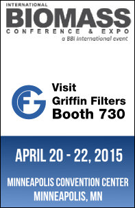 Visit griffin at the biomass conference - booth 730